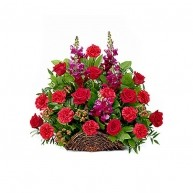 Red Sympathy Basket