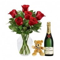 Romantic Harmony with Teddy and Moet