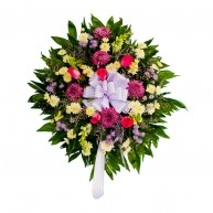 Someone Special  Colourful Wreath