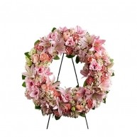 Love for Life Pink Wreath